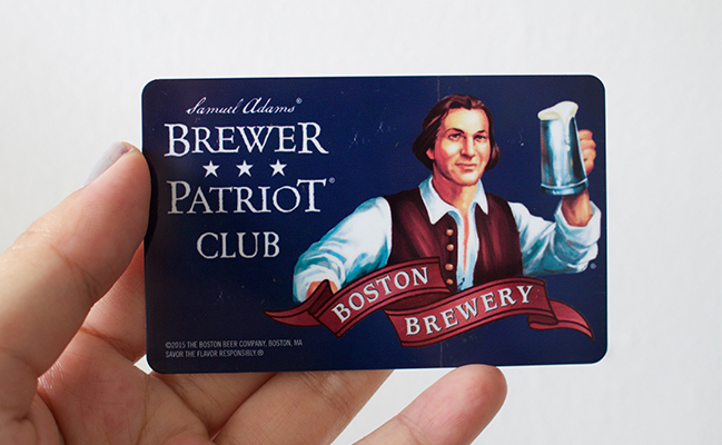 Brewer Patriot Club Card